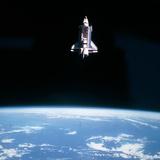 NASA - Space Shuttle Challenger During Mission STS-7 - Fotografik Baskı