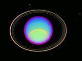 IR Image of Uranus' Atmosphere Posters by  NASA