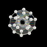 Soap Bubbles on a Dodecahedral Frame Photographic Print by Rapson Rapson