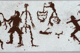 Prehistoric Rock Art, Southern Siberia Prints by Ria Novosti