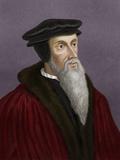 John Calvin, French Theologian Photographic Print by Maria Platt-Evans