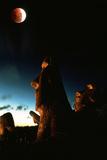 Eclipse lunar Fotografía por David Nunuk