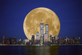 Full Moon Photographic Print by David Nunuk
