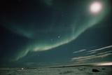 A Spectacular Aurora Borealis Display Photographic Print by Pekka Parviainen