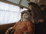 Yuri Gagarin Before Launch, 1961 Photographic Print by Ria Novosti