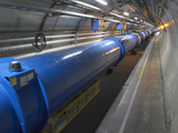 LHC Tunnel, CERN Print by David Parker