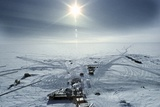 Russian Antarctic Research Station Photographic Print by Ria Novosti