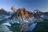 Mount Assiniboine Photographic Print by David Nunuk