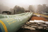 Oil Pipeline Photographic Print by Dr. Morley Read