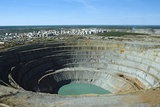 Mir Mine, Siberia, Russia Photographic Print by Ria Novosti