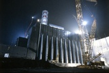 Chernobyl Power Station Sarcophagus Prints by Ria Novosti