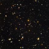 Hubble Ultra Deep Field Galaxies Fotografisk tryk