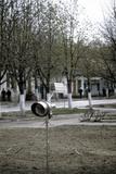 Automatic Radiation Meter, Chernobyl. Poster by Ria Novosti