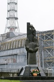Chernobyl Power Station Monument Photographic Print by Ria Novosti