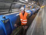 LHC Tunnel, CERN Posters van David Parker