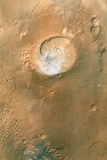 Volcano on Mars Photographic Print by  NASA