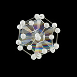 Soap Bubbles on a Dodecahedral Frame Premium Photographic Print by Rapson Rapson
