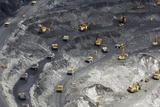 Gold Ore Open Cast Mining Prints by Ria Novosti