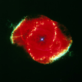 The Cat' Eye Nebula Seen From the Hubble Telescope Photographic Print by  NASA