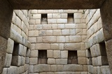 Building Interior, Machu Picchu, Peru Photographic Print by Matthew Oldfield