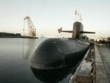 Nuclear Submarine, Russia Print by Ria Novosti