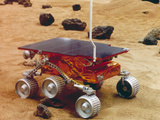 Model of the Mars Pathfinder Rover Sojourner Premium Photographic Print