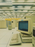 World Wide Web Main Server At CERN, Geneva Photographic Print by David Parker