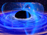 Energy-releasing Black Hole Photographic Print by  NASA