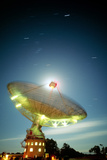 Time-lapse of Parkes Radio Telescope, Australia Photographic Print by David Nunuk