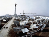 Solar Power Station Prints by Ria Novosti