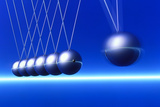 Newton's Cradle In Motion Photographic Print by  PASIEKA