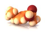 Ibuprofen Molecule Photographic Print by  Phantatomix