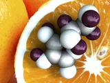 Vitamin C, Molecular Model Posters by Phantatomix