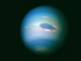 Voyager 2 Image of the Planet Neptune Photo by  NASA