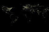 World At Night Photographic Print by  PLANETOBSERVER