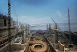 Dnieper Hydroelectric Plant Construction Prints by Ria Novosti