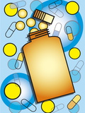 Pill Bottle Photographic Print by David Nicholls