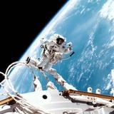 ISS Space Walk Premium Photographic Print