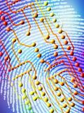 Biometric Fingerprint Scan Premium Photographic Print by  PASIEKA