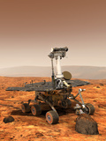 Mars Exploration Rover Premium Photographic Print