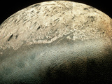 Voyager 2 Photomosaic of Neptune's Moon Triton Photographic Print by  NASA