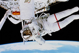 Evaluation of SAFER EVA Backpack, STS-64 Posters by  NASA