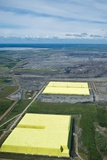 Sulphur Extracted From Oil, Canada Photographic Print by David Nunuk