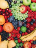 Fresh Fruit Premium Photographic Print by David Parker