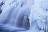Wapta Falls, Canada Photographic Print by David Nunuk