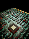Circuit Board From a Mainframe Computer Premium Photographic Print by David Parker