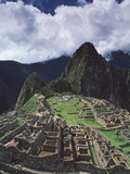 Machu Picchu Photographic Print by David Nunuk