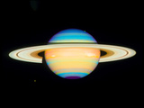 Hubble View of Saturn Photographic Print by  NASA