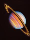 Saturno Stampa fotografica di  NASA