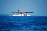 Seaplane Landing Photographic Print by Matthew Oldfield